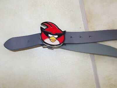 Boys Grey Angry Birds Belt 31 Inches