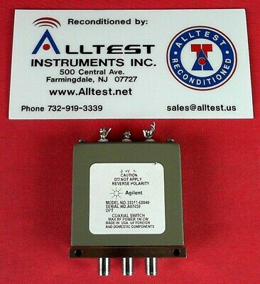 HP - Agilent 33311-60040 Coaxial Switch DC-26.5GHz