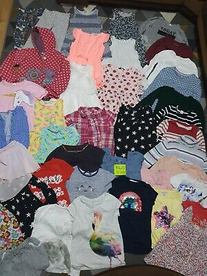 Huge Bundle Of Girls Clothes 4-5years #673 NEXT M&S GEORGE H&M PEPPA PIG