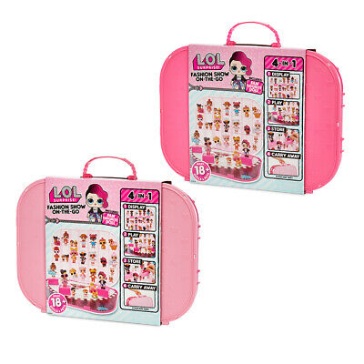 LOL Surprise Fashion Show On The Go Doll/Accessory Carrying Case/Storage/Display