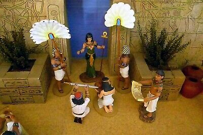 Ancient Egypt Hand made Planters good w/ King & Country Egyptian figures