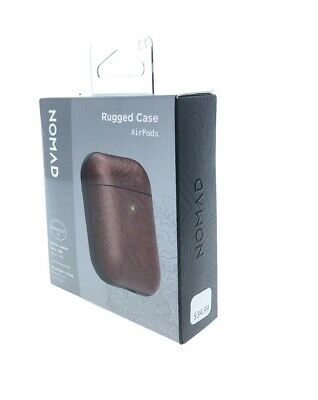 Case Nomad Leather for Apple AirPods V2 - BROWN