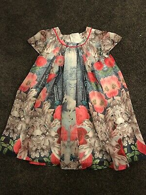 Beautiful Ted Baker Girls 2-3 Years Party Dress . Pre-loved