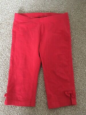 H&M Toddler Kids Red Leggings Trousers Size 2-3 Years