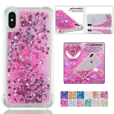 Liquid Glitter Soft TPU Case Bling Sparkle Cover For iPhone XS MAX XR 8 7 Plus 6