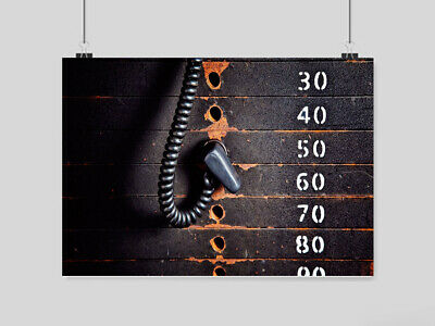 Gym Bodybuilding Weights Poster Muscles Fitness Art A3 A4 Size