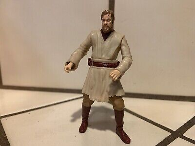 OBI-WAN KENOBI 2005 Star Wars Revenge Sith MUSTAFR FINAL DUEL Set Action Figure