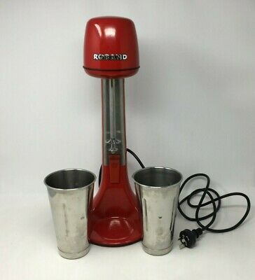 Roband DM21R Red Milkshake Mixer with 2x 710ml Cups Commercial Milk Shake Maker