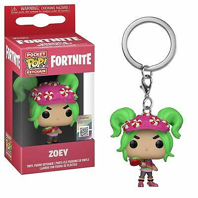 Funko Pop! Keychain: Fortnite Zoey Collectible Vinyl Figure