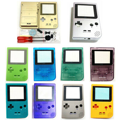 12 Colors Housing Shell Case W/Screwdriver kit For Game Boy Pocket GBP Console