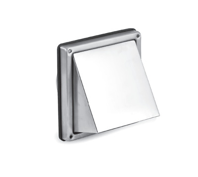 Exhaust Hood from Stainless Steel with Return Flap Ø100mm - Ø150mm,Extractor Fan