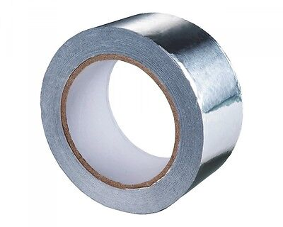 Aluminum Adhesive Tape/Aluminium Adhesive Tape - Insulated 50 M, 50mm Wide