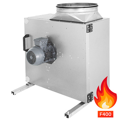 Flameproof Fan to 400°C Küchenablüft, Grill, Charcoal