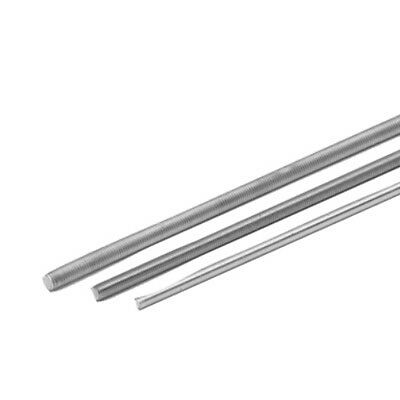 Threaded Rod, Galv. Galvanized Metric Thread through M10 1000 mm Long