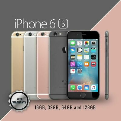 NEW Apple iPhone 6s 16GB 64GB Various Colors Factory Unlocked Smartphone UK