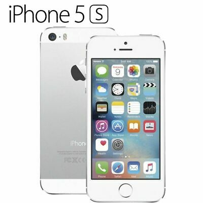 NEW Apple iPhone 5s 16GB Silver Factory Unlocked Smartphone - 2 Year WARRANTY