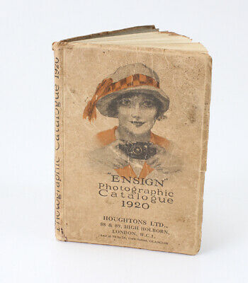 BOOK: ENSIGN PHOTOGRAPHIC CATALOGUE 1920, 182 PAGES, SOFTBOUND/cks/193826
