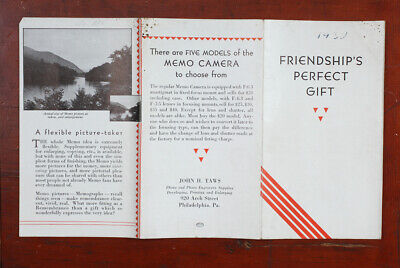 AGFA ANSCO MEMO SALES BROCHURE, 1929, SIX PAGES/cks/193355