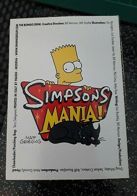 111 Simpsons Mania 2002 Cards