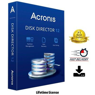 Acronis Disk Director 12 ✔️ LifeTime Activation ✔️Fast Delivery 🔥
