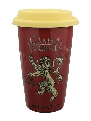 Game of Thrones Travel Mug for Tea or Coffee House Lannister