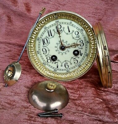 beautiful french clock movement for a mantel clock