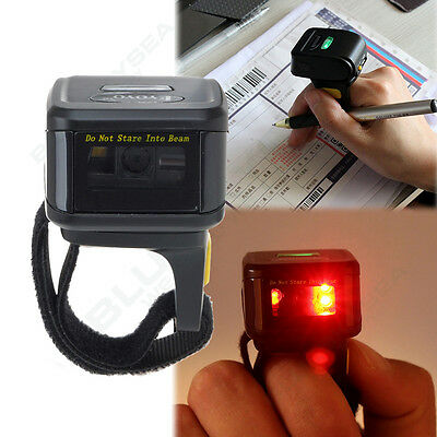 Wireless BTOOTH 2D Barcode Scanner Reader For Apple IOS Android Windows 7/8