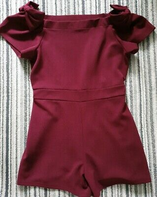 Girls River Island Short Suit age 11 -12 Year's