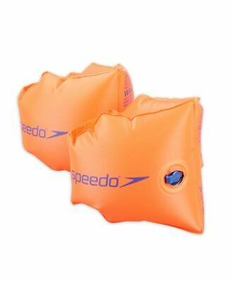 Speedo Children's PVC Armbands - Swimming Aid - 0-12 Years - Orange