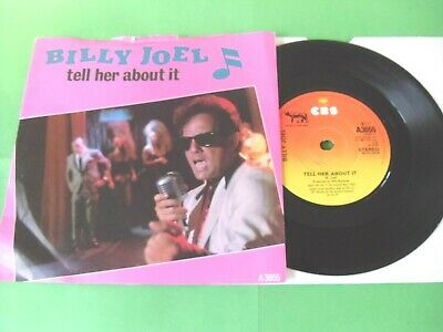 """Billy Joel - Tell Her About It  7""""  83  Vg"""