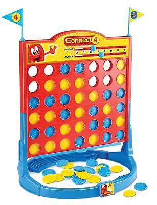Classic Connect 4 In a Row Travel Game My Traditional Board Challenge Toy UK