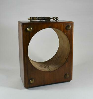 Antique 19Th Century French Wooden Replacement Mantle / Carriage Clock Case