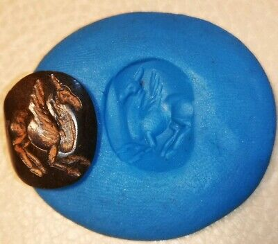 ONE INTACT RARE NEAR EASTERN SEAL OF ANIMAL PENDANT 4.1g 19.95mm