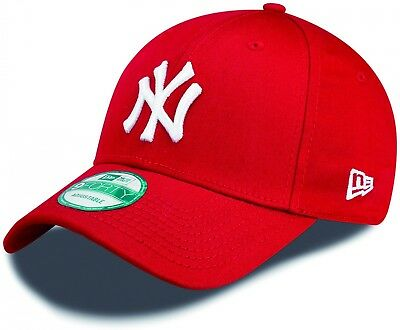 New Era - MLB New York Yankees Essential 9Forty Cap - Red-White