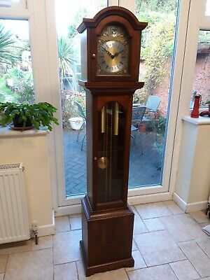 Grandmother clock with 241-030 Hermle movement, local delivery.