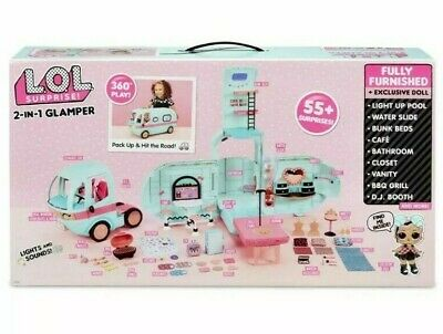 LOL Surprise Toys For Girls Kids Age 4 5 6 7 Glamper With Doll Gift New