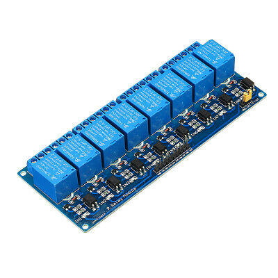 8 Channel Relay Module 24V with Optocoupler Isolation Relay Module For Arduino