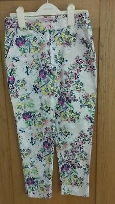 "Girls ""Loved & Found"" John Lewis Floral Trousers - Age 12 Years new without tags"