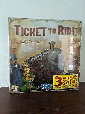 Days Of Wonder Ticket To Ride Alan R. Moon German Game Of The Year 2004