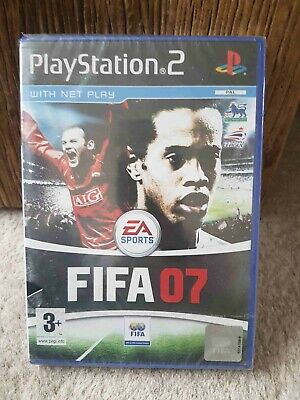 Ps2 FIFA 07 (Sony PlayStation 2, 2006) Pal/UK version, brand new sealed