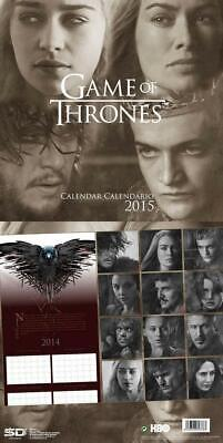 Calendario Game Of Thrones 2015 Trono Di Spade 12 Mesi Stark Targaryen Serie Tv