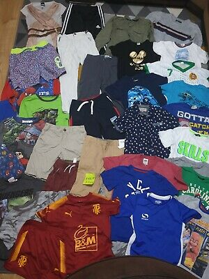 Huge Bundle Of Boys Clothes 7-8years #669 ADIDAS NEXT GEORGE PRIMARK DARE 2 BE