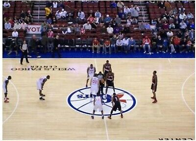 76ers vs Knicks 2/27 - 2 Great Aisle Seats - Section 201 - Center Court - Row 1