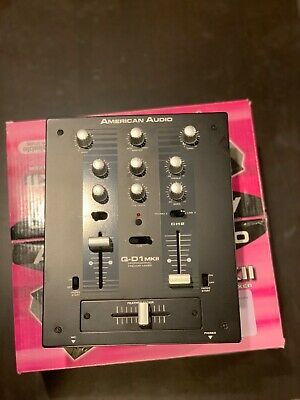 American Audio Q-D1 MKII Two-Channel Mixer Used But In Excellent Condition