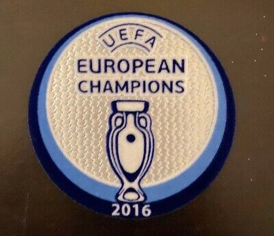 Euro 2016 Patch badge UEFA maillots foot Portugal Champions