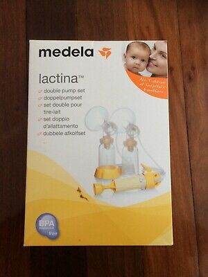 New in box Medela Lactina Double Breast Pump Set