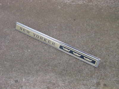 1994-1996 Chevrolet Impala SS Grey Green Rear Quarter Panel Nameplate new OEM