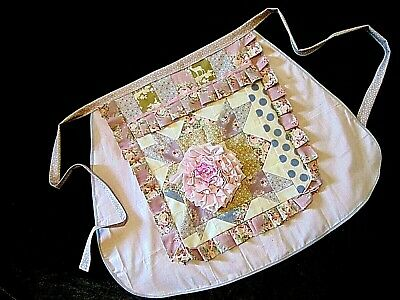Beautiful Shabby Chic French Vintage Apron Teahouse Florist Vintage