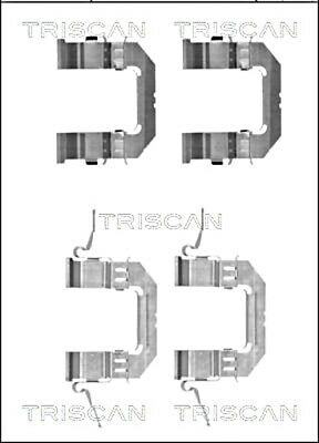 Parking Brake Shoes Accessory Kit Disc For TOYOTA NISSAN IV 440260001R