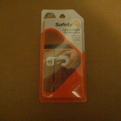 Safety First Secure Mount Cabinet Lock 2 Pack